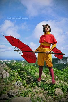 Jinora Cosplay from The Legend of Korra by Teenari Teenielle / Totally Toasty Photography on Flickr, photo by OkiChiton, editing by Teeny | TLOK