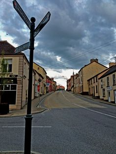 belturbet, cavan - bridge street - too much beige. Ireland, Bridge, Europe, Country, Street, Places, Travel, Viajes, Rural Area