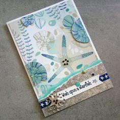 Scrapbook Journal, Scrapbook Page Layouts, Scrapbook Supplies, Scrapbooking, Card Making Tutorials, Craft Tutorials, Beautiful Handmade Cards, Paper Design, Cardmaking
