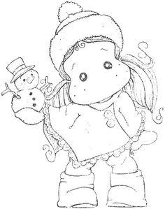 ALC 15 - Tilda with Little Snowy