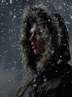 Amazing studio portraits by Joey L. Creates Indoor Blizzard For Unique Portraits