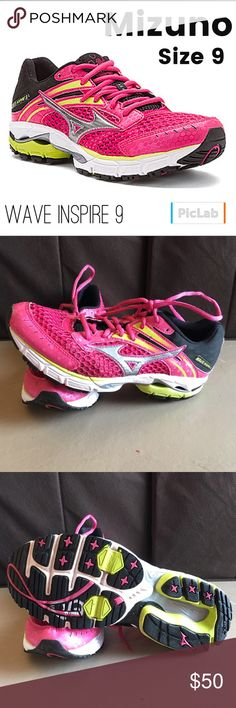 5dee3fed889 Mizuno Wave Inspire 9 Running Shoes Size 9 Lots of life left in these shoes!