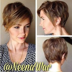 Short Wavy Hairstyle for Long Face