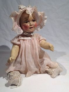 1916-1920 RALEIGH DOLL COMPANY COMPOSITION BABY DOLL, BEAUTIFULLY PAINTED HEAD   Dolls & Bears, Dolls, Antique (Pre-1930)   eBay!