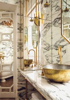 marble and gold
