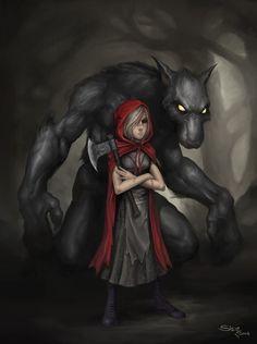 A Deeper Look Into Little Red Riding Hood | Werewolves