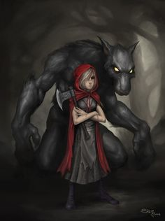 A Deeper Look Into Little Red Riding Hood | Werewolves