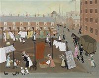 Washing-Day by Helen Bradley