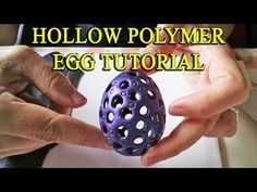 Hollow Polymer Egg Tutorial - With Science! - YouTube