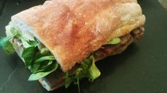 Roasted our first beef brisket of the year. Served in a ciabatta with horseradish mayonnaise, beetroot and babyleaf salad