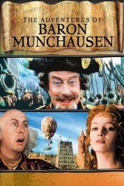 The Adventures of Baron Munchausen (1988) Poster