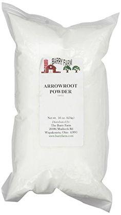 Arrowroot powder is