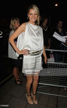 Tess Daly attends the Glamour Women of the Year awards at Berkeley Square Gardens on June 8, 2010 in London, England.