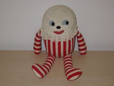Vintage Humpty Dumpty Plush Doll by Helene of California 1967 SWEET