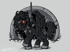Nine Little Ponies T-Shirt Designed by Letter-Q    Source: http://teecraze.com/nine-little-ponies-t-shirt/