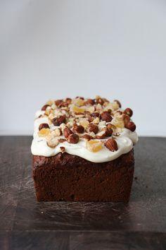 Parsnip, Hazelnut and Stem Ginger Loaf Cake | Add More Butter