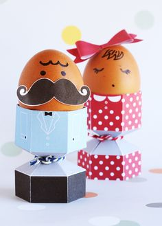 Dressed to party egg