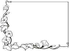 PEQUES Y PECAS...: Marcos con hojas para colorear: