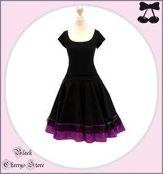 Kleid LILA Black Cherrys Store von BlackCherrysStore auf Etsy