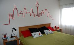 how to decorate a big wall | If you're wondering how to decorate your walls with simple, low cost ...