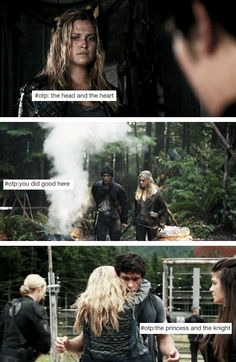 Bellarke + Tumblr the princess & the night *SQUEE* WHY IS THIS NOT A THING YET!!!!