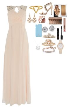 """Homecoming Queen"" by mpb15 ❤ liked on Polyvore featuring ChloBo, Allurez, Urban Decay, Little Mistress, Smashbox, Tory Burch, BillyTheTree, Anne Sisteron and Chan Luu"