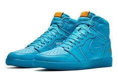 Official Images: Air Jordan 1 Gatorade Blue Lagoon - Dr Wong - Emporium of Tings. Jordan 1 Blue, Jordan 1 High Og, Blue Jordans, Air Jordans, Shoes Jordans, Jordan Shoes, Swag Shoes, Men's Shoes, Michael Jordan