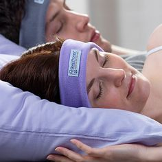 Oh my gosh, I've needed something like this forever!  Wear this and listen, COMFORTABLY, to your music while you sleep!