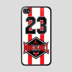 iPhone 4/4s Hard Case  Michael Jordan 23  Phone by BeautyCaseShop, $14.00
