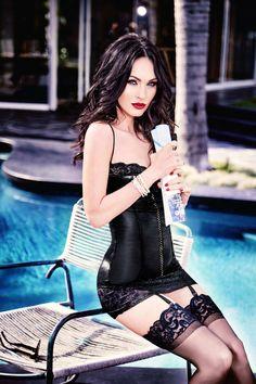 Megan Fox by Ellen Von Unwerth for Frederick's of Hollywood.