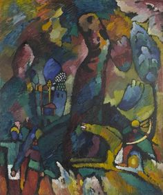 MoMA | Vasily Kandinsky. Picture with an Archer. 1909
