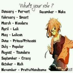 I am the crazy person, guess I get to kill people, but I feel like I would be the crazy genius (Xavier): neko Hell yeah Birthday Scenario Game, Birthday Games, Horoscope Animé, Fairytail, Kuudere, Anime Zodiac, Japon Illustration, Its My Birthday Month, Crazy Genius