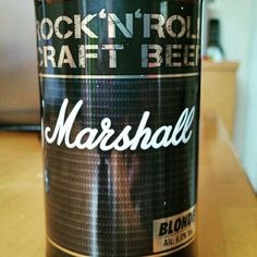 Marshall Rock'N'Roll Craft Beer by ICON Beverages #untappd