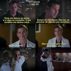 Melhor Amizade Alex e Meredith