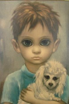Painter Margaret Keane on real-life story behind movie Big Eyes . Big Eyes Margaret Keane, Keane Big Eyes, Margret Keane, Keane Artist, Walter Keane, Big Eyes Paintings, Watercolor Paper Texture, Vintage Picture Frames, Eye Painting