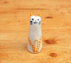 Your place to buy and sell all things handmade Shops, Cat Ring, Animal Rings, Ring Dish, Jewelry Holder, Ceramic Pottery, Tuxedo, Panda, Birthday Ideas