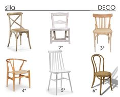 Sillas protagonistas de la decoración Decor, Dining Chairs, Wishbone Chair, Deco, Chair, Dining, House, Home Decor, Furniture