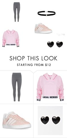 """Sport"" by zvac-anca-teodora ❤ liked on Polyvore featuring Mint Velvet, Local Heroes, adidas and Amanda Rose Collection"