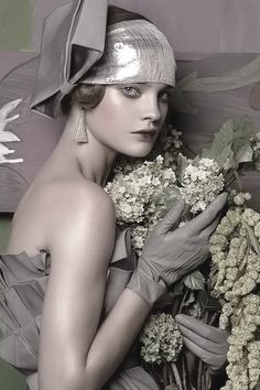Natalia Vodianova in 'Fashioning The Century' by Steven Meisel | Vogue.