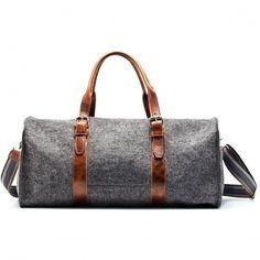 Wool Felt Duffel Bag by Graf & Lantz