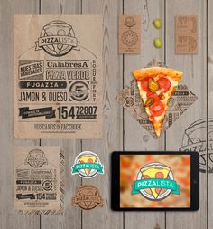 PizzaLista - 2013 by DotHaus , via Behance