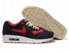 Nike Air Max 90 pour Homme Rouge/Brun fonc