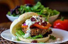 All the Greek flavors in one package: Greek Lamb burgers