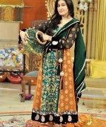 Pakistani Mehndi Dresses 2014 for Girls Pictures