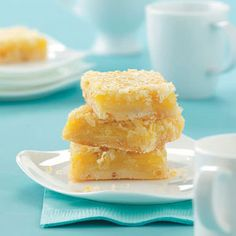 Coconut Citrus Bars Recipe from Taste of Home -- shared by Heather Rotunda of St. Cloud, Minnesota