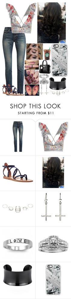 """Untitled #3239 - ROH Supercard - 4/1/17"" by nicolerunnels ❤ liked on Polyvore featuring Yves Saint Laurent, Zimmermann, K. Jacques, J.A.K., Fantasy Jewelry Box, A.Jaffe and Casetify"