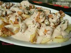 kuraci gyros s hranolkami – Vyhľadávanie Google Feta, Potato Salad, Food And Drink, Potatoes, Cheese, Ethnic Recipes, Kebabs, Google, Beauty