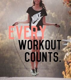 every workout counts #fitness #motivation #exercise