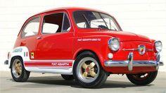 Fiat abarth 850 tc. Eller, lite av varje.