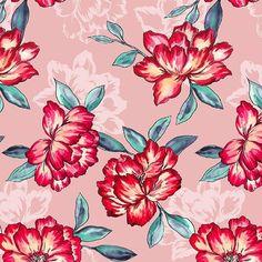 My new floral pattern soon will be on @patternbank. Мой новый цветочный орнамент скоро появится на…